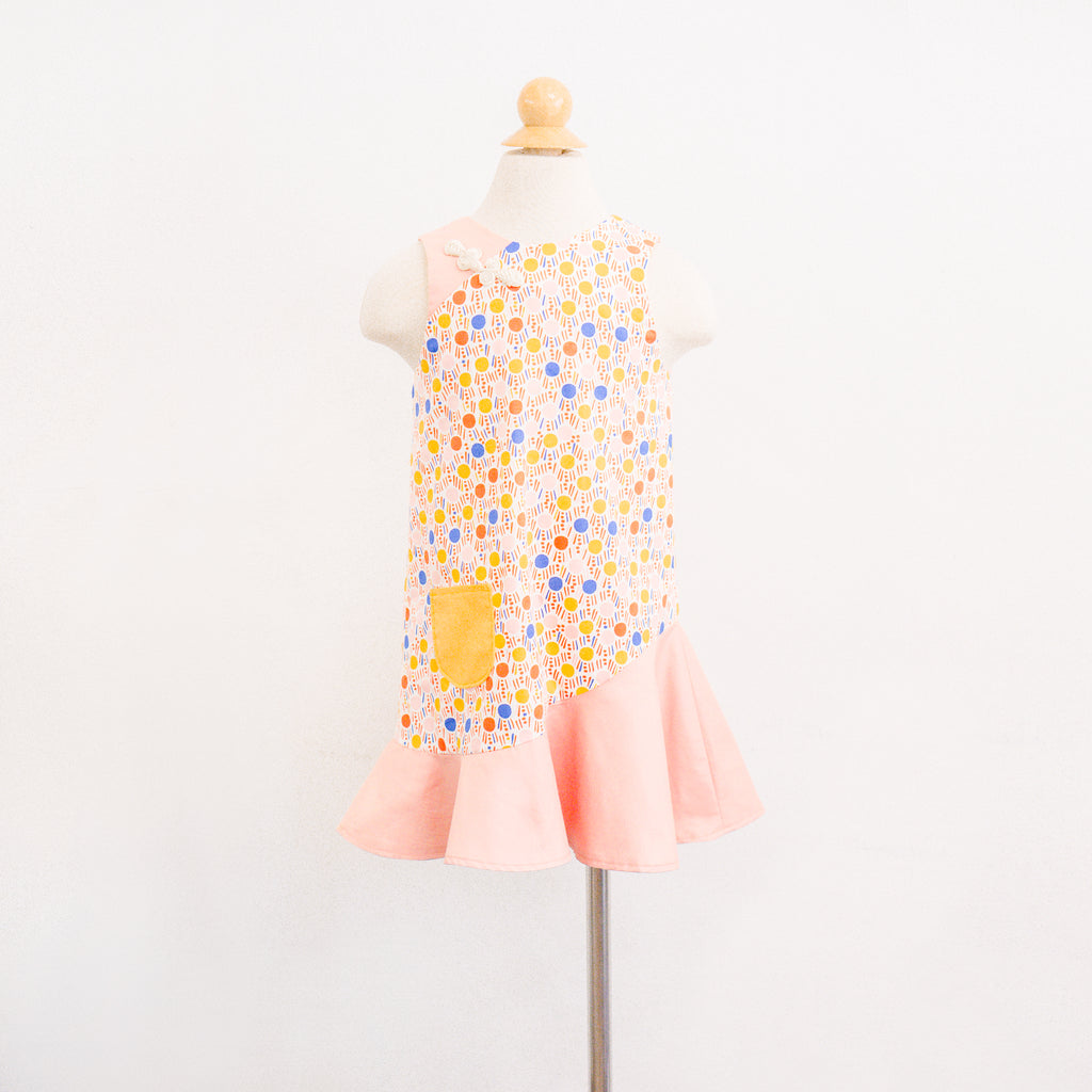 Kidswear: Girls' Flute Hem Dress K206 *Custom Fit