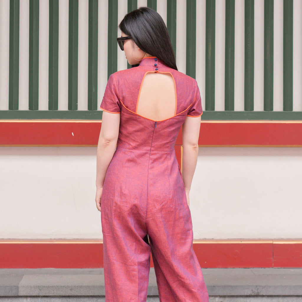 Fashion Sewing 212 – Cheongsam Jumpsuit *Custom Fit