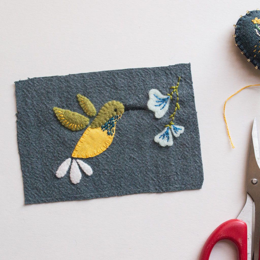 Local Birds Hand Appliqué Workshop by Momshoo