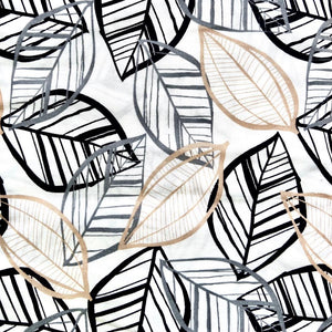 IEBB-058 | Monotone Leaf Fabric