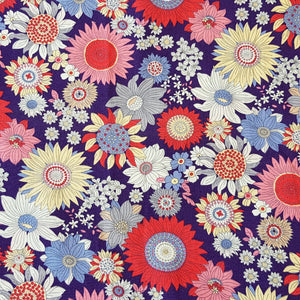 colourful floral fabric