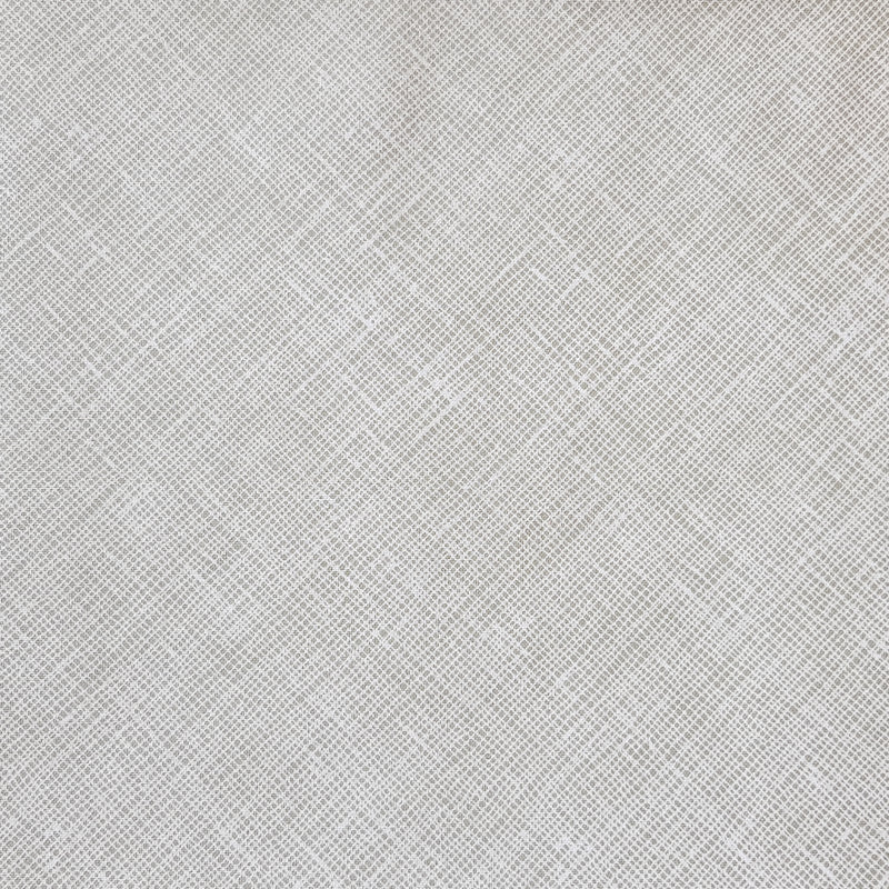 Grey Crosshatch fabric