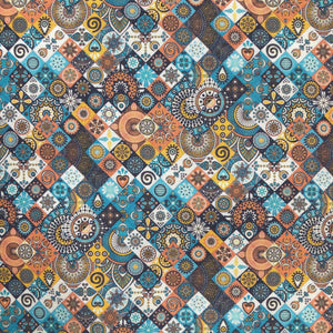 IE-OCP 003-1 | Batik Mosaic Fabric