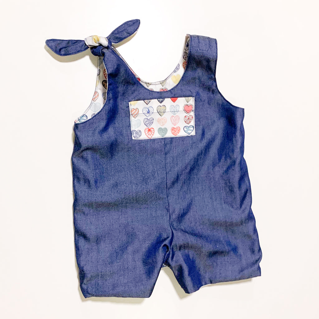 [E-Classes] Reversible Baby Romper (Unisex) *Custom Fit