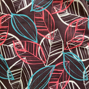 IEBB-057 | Tri-Colour Leaf Fabric