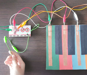 Sew-It-Yourself Game Controller with using conductive materials