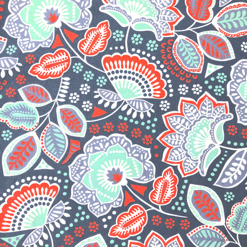 OCP-CN-004 | Mint Flowers with Red Leaves