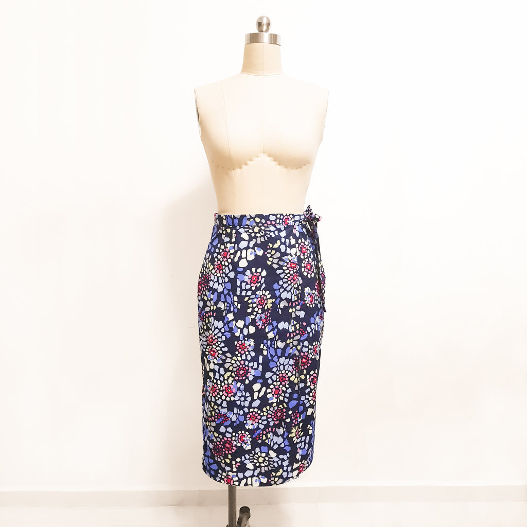 [E-Class] Side Split Wrap Skirt *Custom Fit