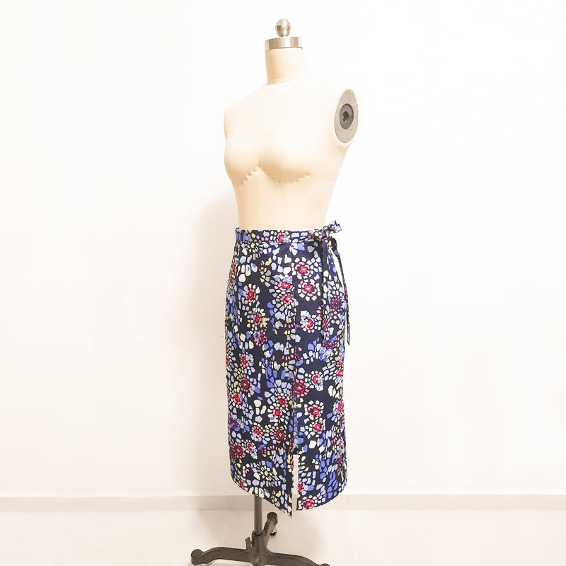 [E-Classes] Side Split Wrap Skirt *Custom Fit