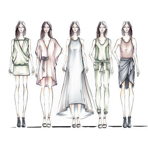 Fashion Illustration 101 (Womenswear)
