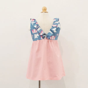 Kidswear: Girls' Ruffled Dress K204