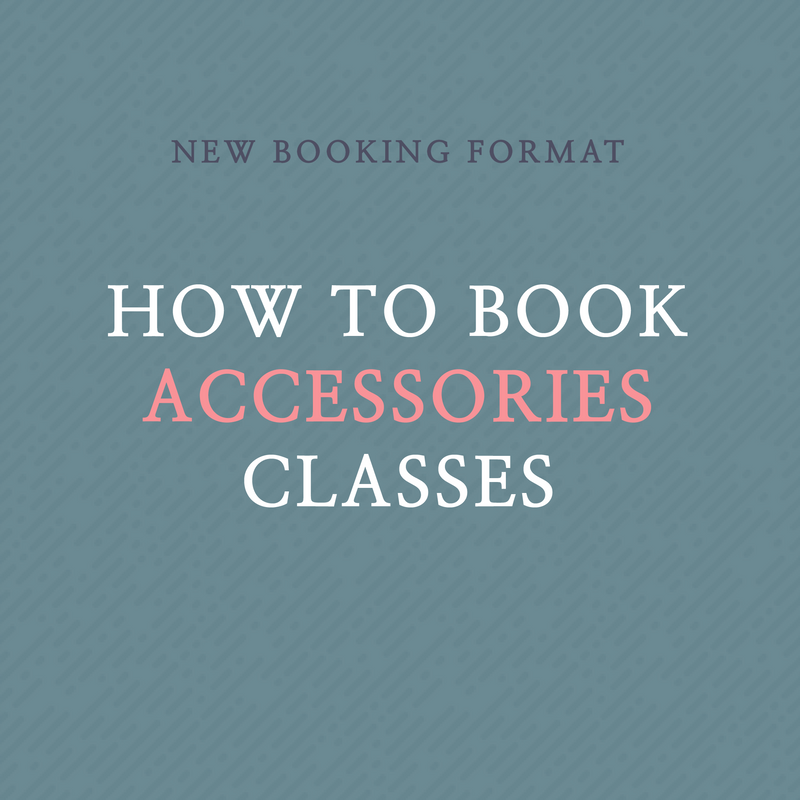 How to Schedule My Class | Accessories