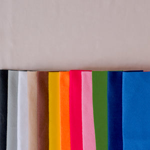 Felt fabric with variety choices of colors