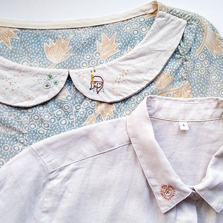 Hand Embroidery on Clothes by Momshoo