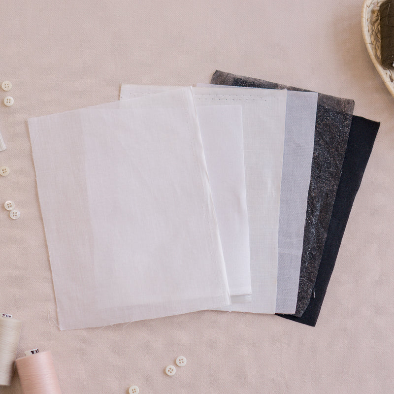 White and Black Interfacing