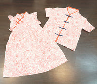 Kidswear: Boy's tang shirt and girl's cheongsam