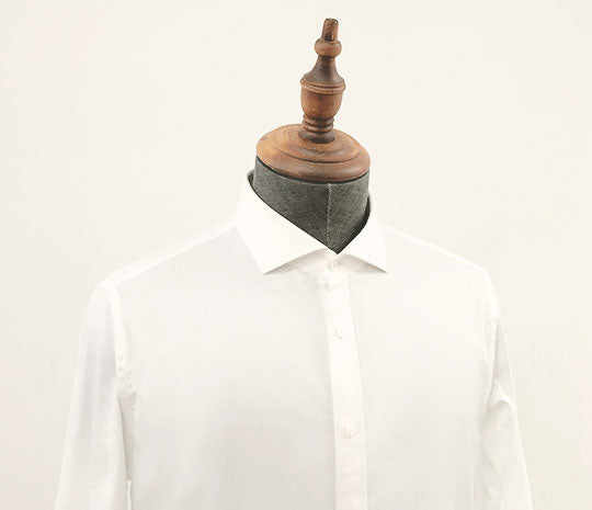 Men's Tailored Business Shirt with spread collar