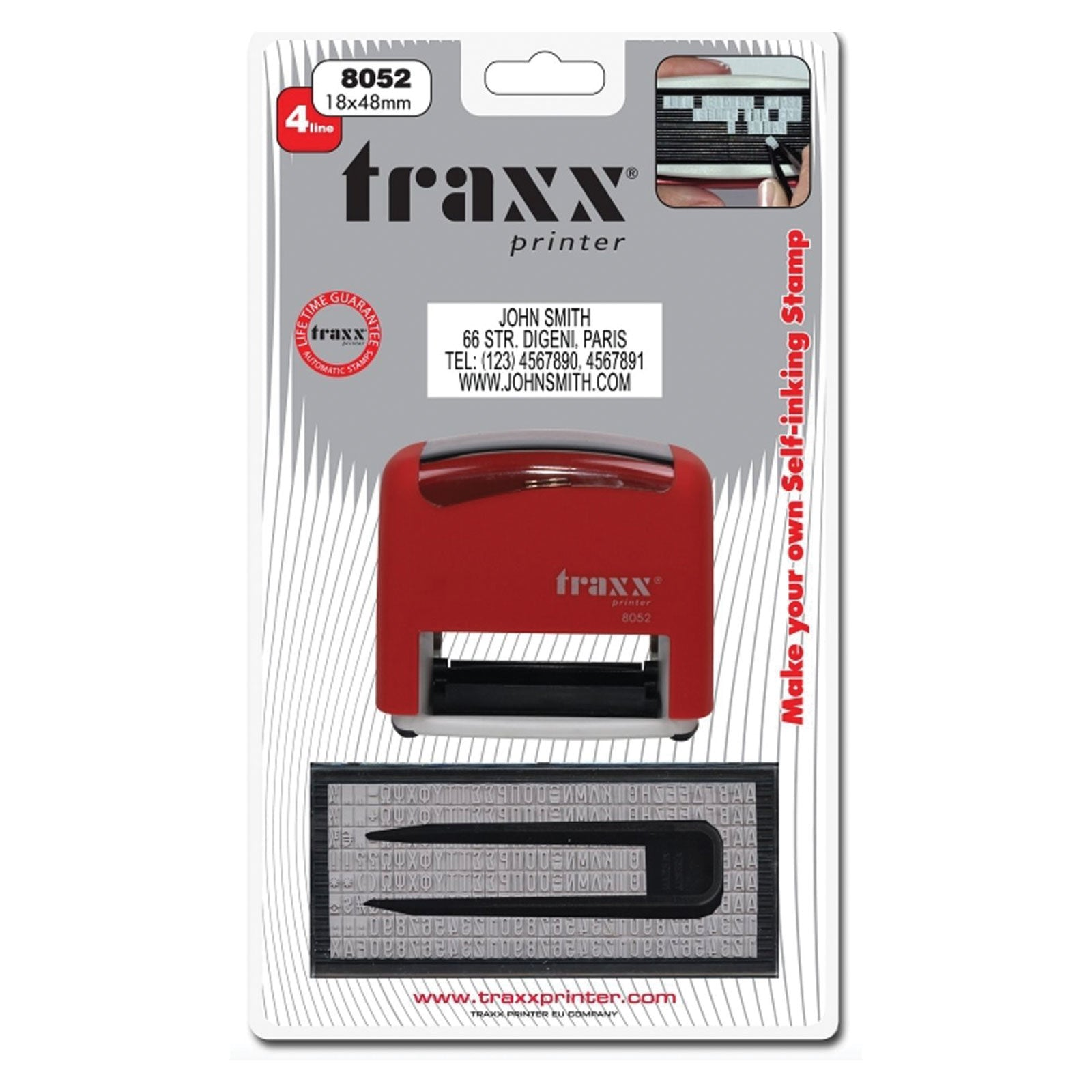 Traxx 8052 DIY Stamp Kit