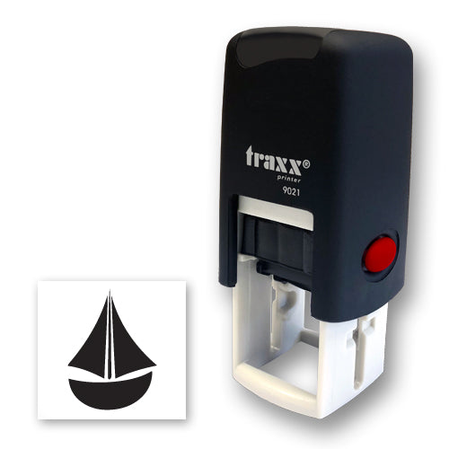 Traxx 9021 14 x 14mm Loyalty Stamp - Boat