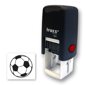 Traxx 9021 14 x 14mm Loyalty Stamp - Football
