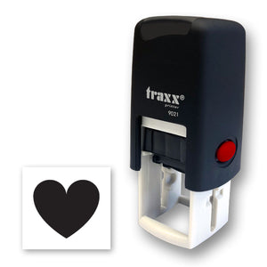 Traxx 9021 14 x 14mm Loyalty Stamp - Heart