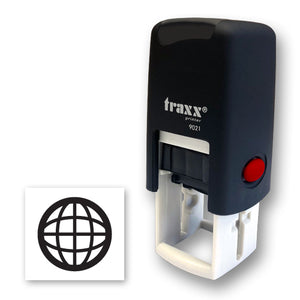 Traxx 9021 14 x 14mm Loyalty Stamp - Internet