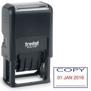 Trodat 4750 Stock Date Stamp -  COPY