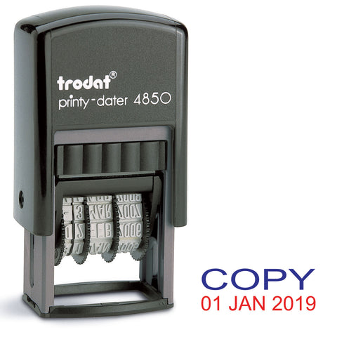 Trodat 4850 Stock Date Stamp - COPY
