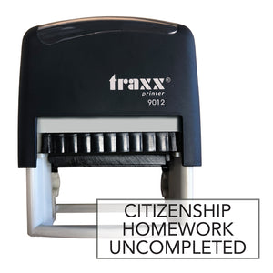 Traxx 9012 48 x 18mm Homework Uncompleted - Citizenship