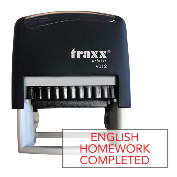 Traxx 9012 48 x 18mm Homework Completed - English