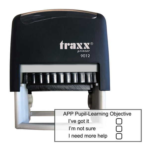 Traxx 9012 48 x 18mm Assessment Stamp - APP Pupil Learning