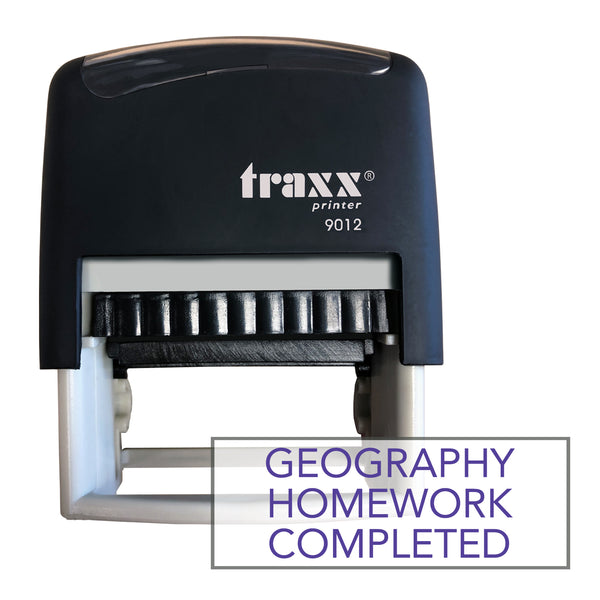 Traxx 9012 48 x 18mm Homework Completed - Geography