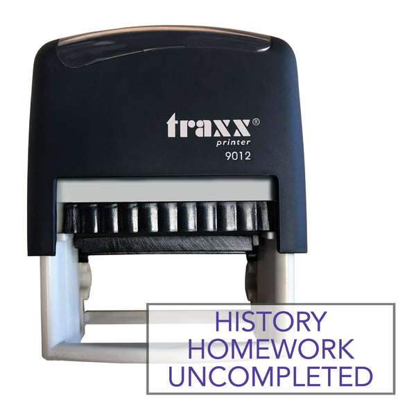 Traxx 9012 48 x 18mm Homework Uncompleted - History