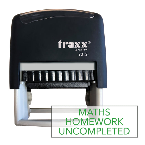 Traxx 9012 48 x 18mm Homework Uncompleted - Maths