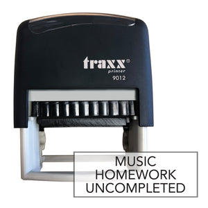 Traxx 9012 48 x 18mm Homework Uncompleted - Music