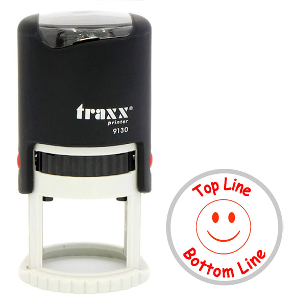 Traxx 9130 30mm Round - Smiley Face