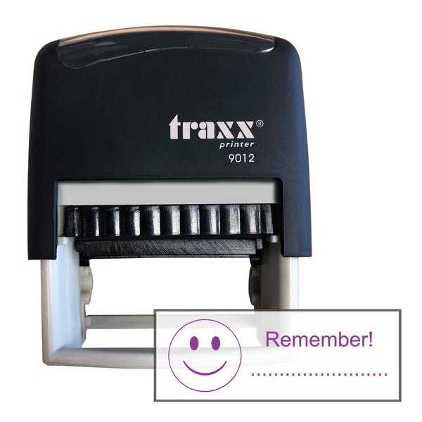 Traxx 9012 48 x 18mm Assessment Stamp - Remember....