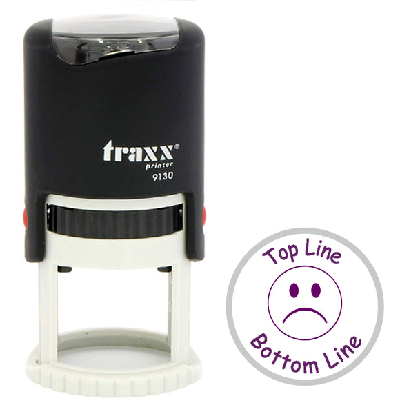 Traxx 9130 30mm Round - Sad Face
