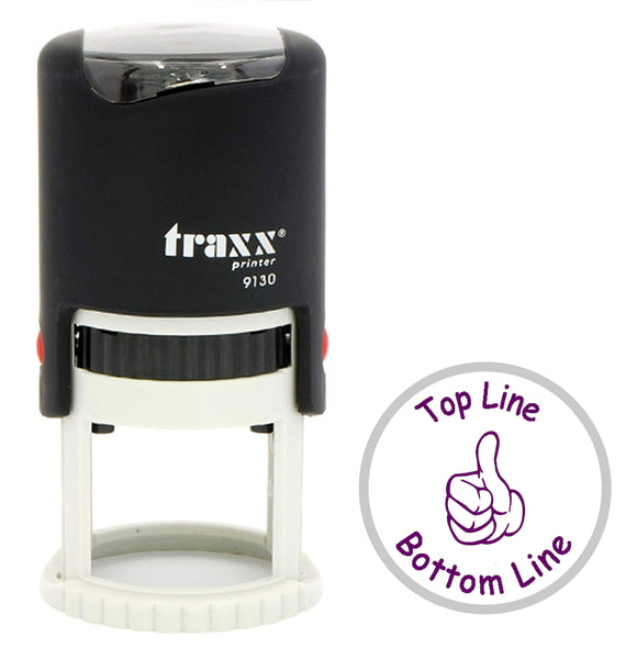 Traxx 9130 30mm Round - Thumbs Up