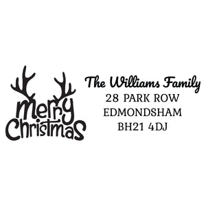 X-Large Personalised Stamp - Christmas 5
