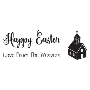 Small Personalised Stamp - Easter 1