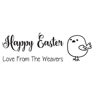 Small Personalised Stamp - Easter 3