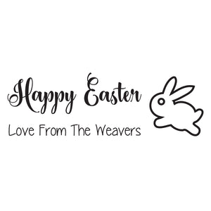 Small Personalised Stamp - Easter 5