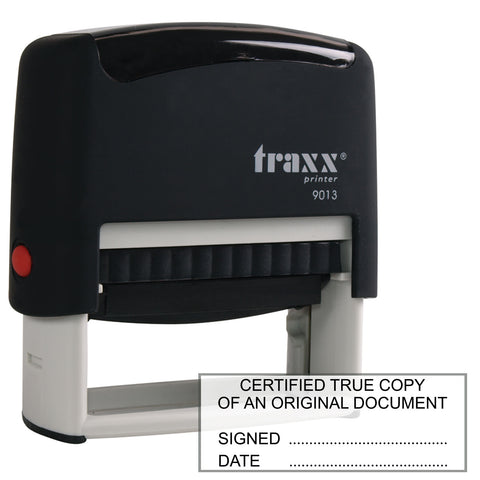 Certified True Copy Traxx 9013 58 x 22mm