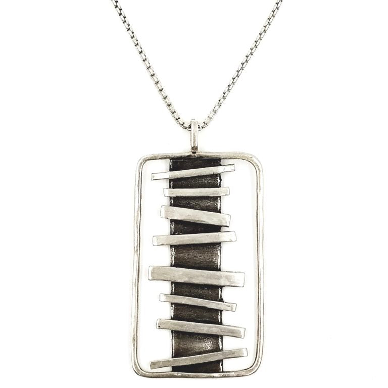 Random Sterling Silver Necklace