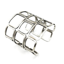 Load image into Gallery viewer, Really Fitting In Sterling Silver Cuff Bracelet