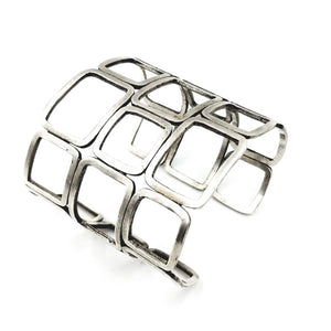 Really Fitting In Sterling Silver Cuff Bracelet