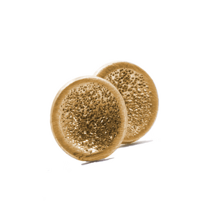 Stud Gold Earrings | Handcrafted Jewelry by 4byKaren.com
