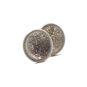 Stud Sterling Silver Earrings | Handcrafted Jewelry by 4byKaren.com