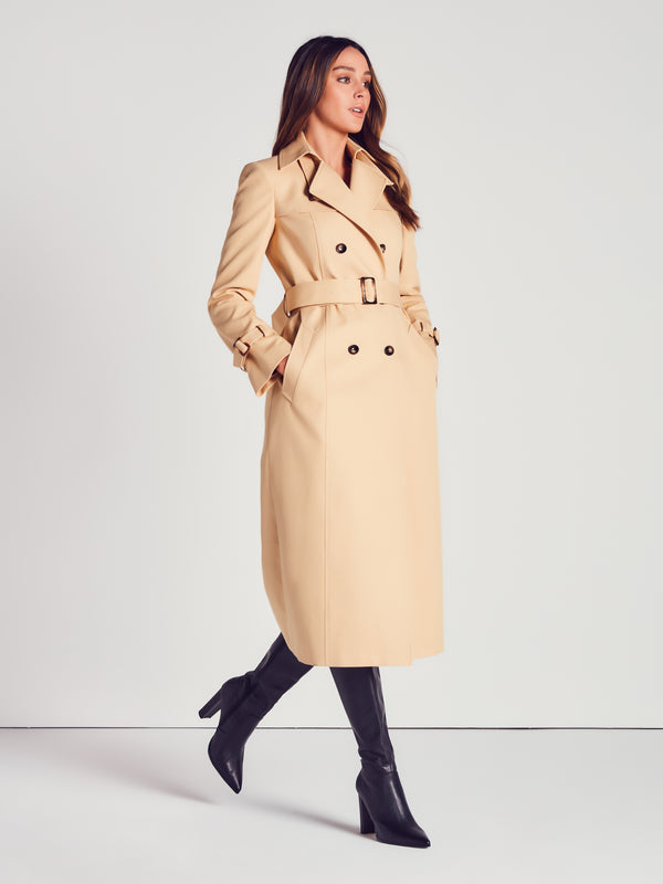 COTTON TRENCH - PALE GOLD